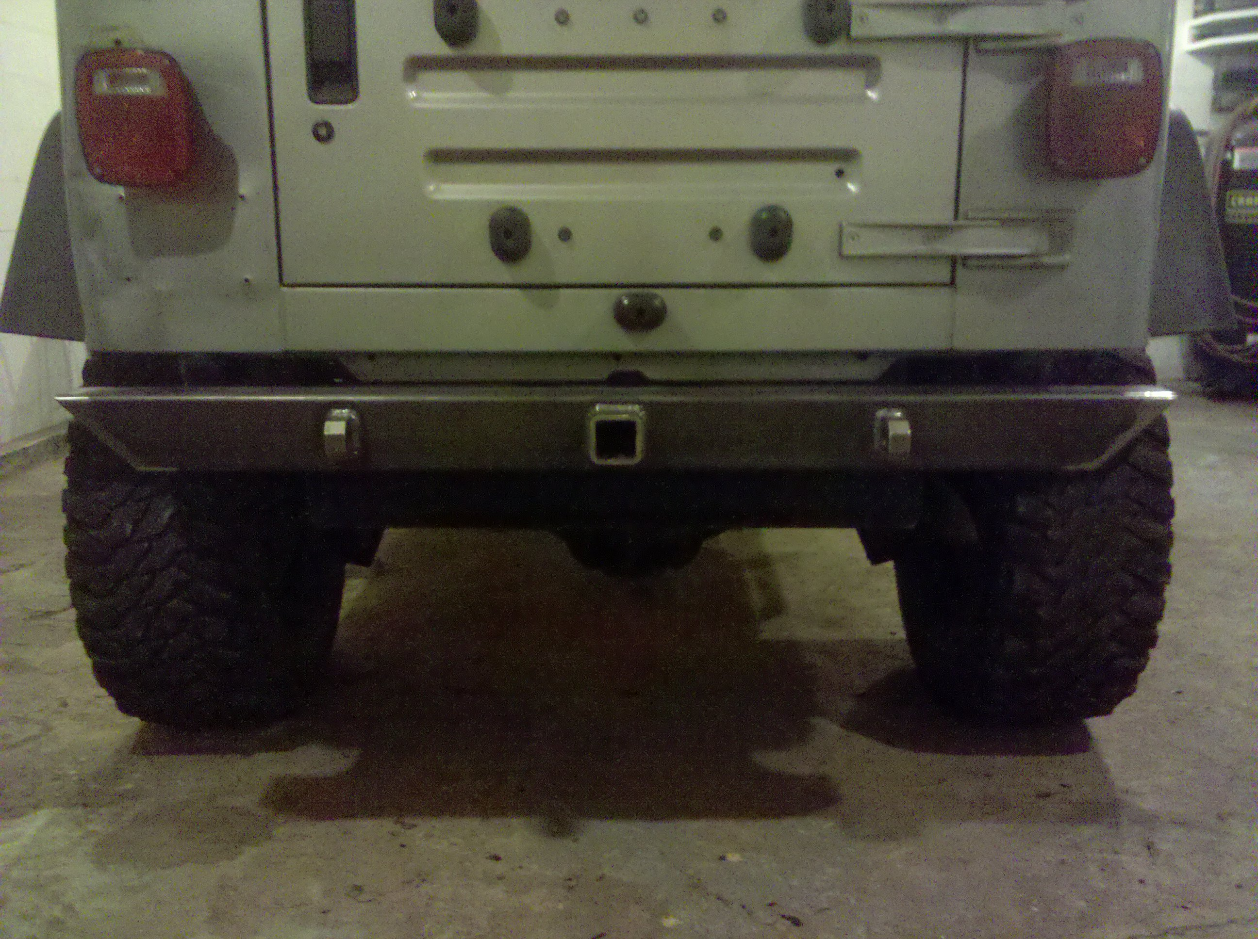 Jeep Wrangler  Tj  Custom Rear Bumper  U2013 Hornbuilt